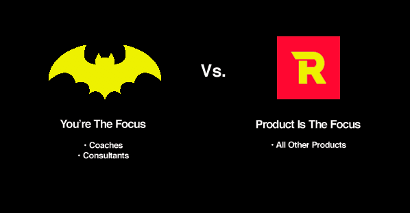 infographic showing how to copywrite like batman vs. robin