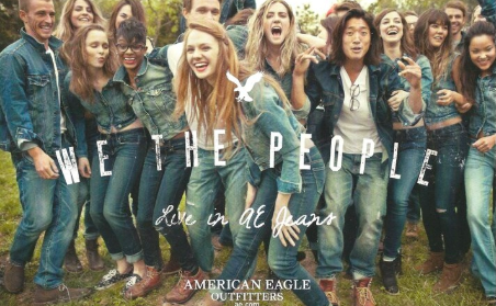 We The People American Eagle ad