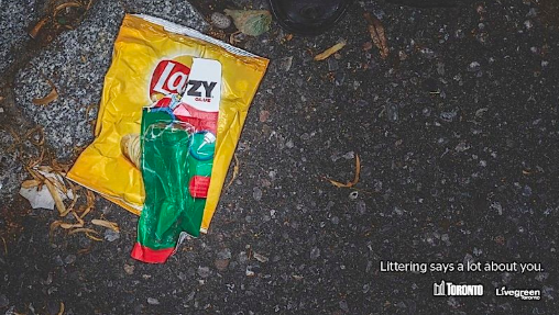 Livegreen anti-littering ad