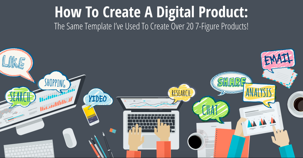 How to create a digital product graphic