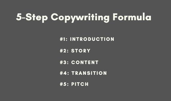 5-step copywriting formula